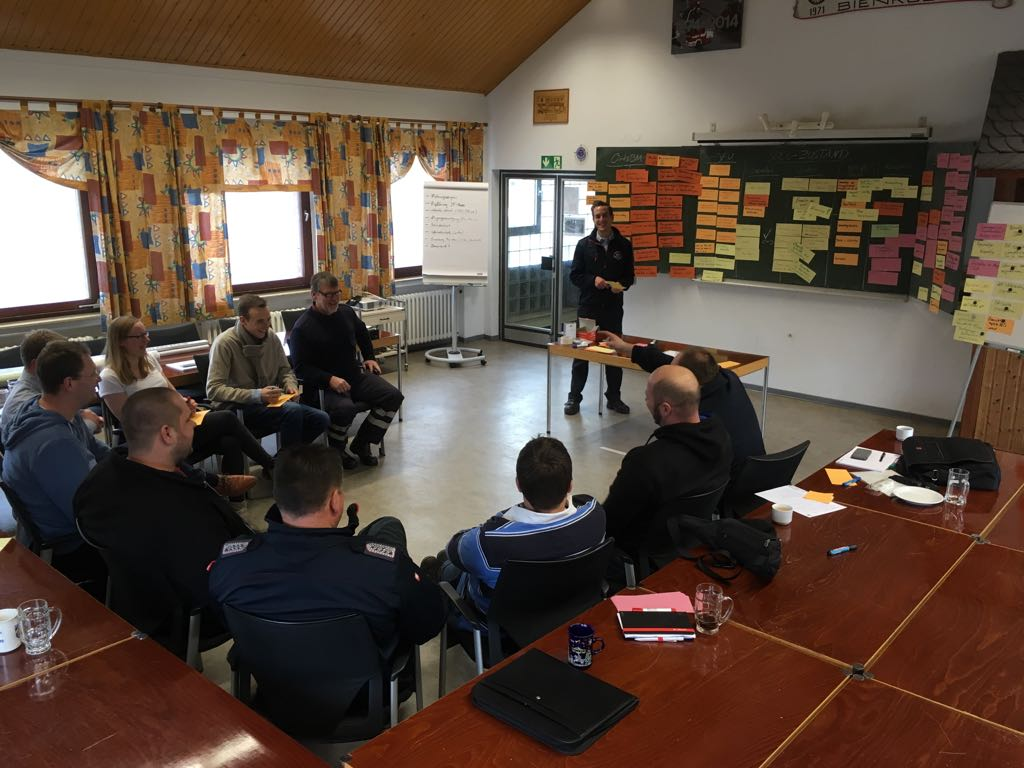 Workshop des Ortskommandos 2018