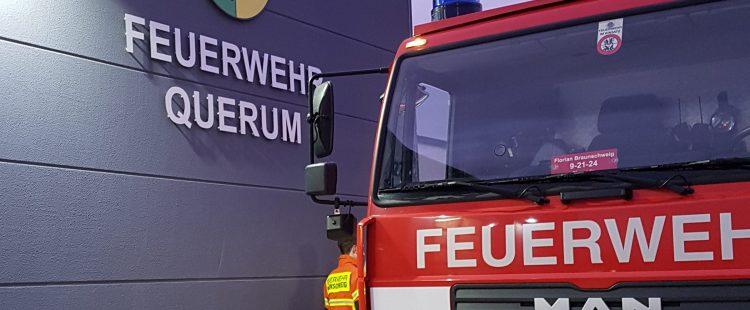 Ortsfeuerwehren Bienrode und Querum übten im neuen Alarmverbund